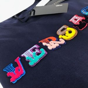Brand New Versace Men's Embroidered Logo T-shirt